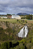 Waratah, the Tasmanian town with a waterfall Royalty Free Stock Images