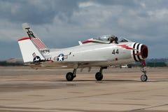 Warbird nord-américain de fureur de FJ-4B Photos libres de droits