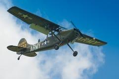 Warbirds - Bird Dog in flight Royalty Free Stock Images