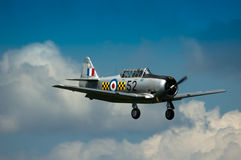 Warbirds - Harvard in flight Royalty Free Stock Image
