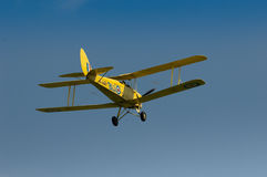 Warbirds - mite de tigre jaune en vol Photographie stock libre de droits