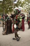 Warcraft Ogre at Lucca Comics and Games 2017. A Warcraft Ogre`s costumeduring the Lucca Comics and Games 2017 festival Stock Photo