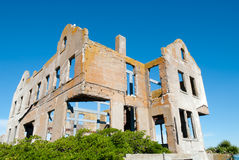 Warden house Alcatraz royalty free stock images