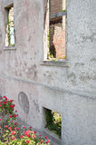 Warden House Corner a Alcatraz Immagini Stock Libere da Diritti