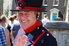 Warder del yeoman Fotografia Stock
