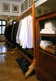 Wardrobe. Big wardrobe in the house Royalty Free Stock Photography
