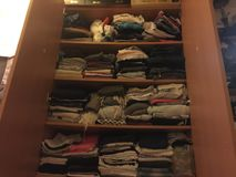 wardrobe foto de stock royalty free