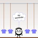 Wardrobe Royalty Free Stock Photography