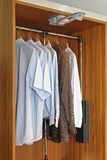 Wardrobe Closet Stock Photography