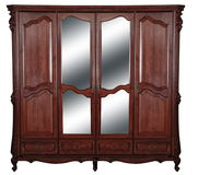 Wardrobe de madeira Fotografia de Stock Royalty Free