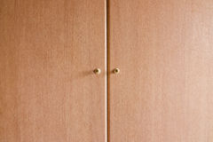Wardrobe door. Stock Photo