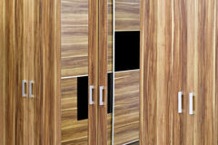 Wardrobe doors Royalty Free Stock Photography