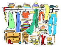 Garderobe clipart  Wardrobe Stock Illustrations – 11,042 Wardrobe Stock Illustrations ...