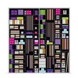 Wardrobe inside, illustration for your design Stock Image