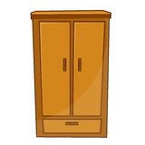 Wardrobe isolated illustration Stock Photo