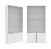 Wardrobe Isolated on White Background, 3D rendering Royalty Free Stock Images