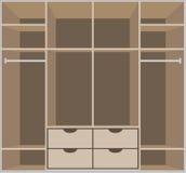 Wardrobe room. Furniture Stock Photos
