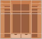 Wardrobe room. Furniture Royalty Free Stock Image