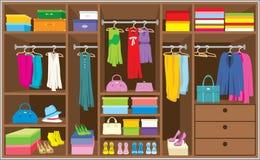 Free Wardrobe Room. Furniture. Royalty Free Stock Photography - 23468987