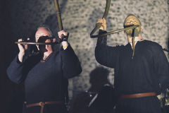 Wardruna, live in concert 2017. Wardruna is a Norwegian music group dedicated to creating musical renditions of Norse cultural and esoteric traditions Stock Photos