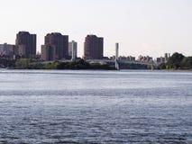 Wards Island Bridge. In New York Royalty Free Stock Image