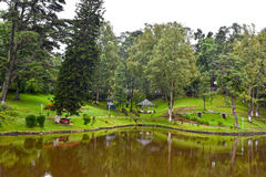 Wards Lake, Shillong. Wards Lake is among most popular tourist locations of the hill station. It is an artificial lake that is enveloped within a widespread Royalty Free Stock Image