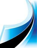 Ware Blauwe Presentatie Stock Afbeeldingen