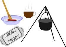 Ware för mat royaltyfri illustrationer