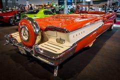Ware grootteauto Edsel Pacer Convertible, 1958 Stock Afbeeldingen