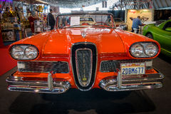 Ware grootteauto Edsel Pacer Convertible, 1958 Royalty-vrije Stock Afbeelding