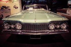 Ware grootteauto Oldsmobile Super Convertibele 88, 1959 Royalty-vrije Stock Afbeeldingen