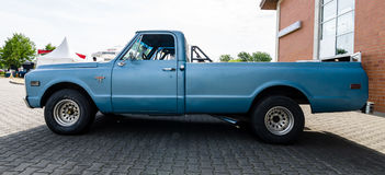 Ware groottepick-up Chevrolet c-10 Fleetside, 1969 Stock Foto's