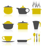 Ware icons2 Royalty Free Stock Images