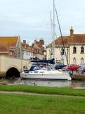 Wareham Quay, Dorset. Royalty Free Stock Photo