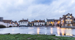 Wareham Quay at High Water Royalty Free Stock Photos