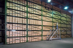 Warehouse. Royalty Free Stock Photo