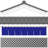 Warehouse. Japanese traditional storehouse.  roof, tile and wall Royalty Free Stock Image