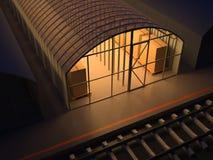 Warehouse Royalty Free Stock Photography