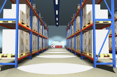 Warehouse. Stock Images