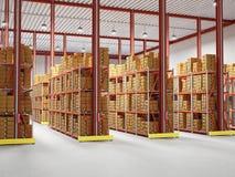 Warehouse stock illustration