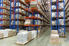 Warehouse Foto de archivo libre de regalías