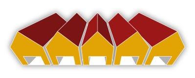 Warehouse. Vector illustration of storage warehouse Stock Photos