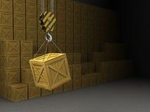 Warehouse Imagen de archivo libre de regalías