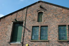 Warehouse. A victorian brick warehouse Royalty Free Stock Photo