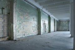 Warehouse abandonado Fotos de archivo libres de regalías