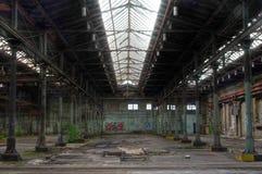 Warehouse abandonado Fotografía de archivo libre de regalías