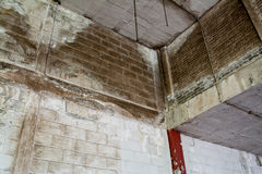 Warehouse abandonado abandonado Imagenes de archivo