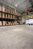 Warehouse angle Royalty Free Stock Images