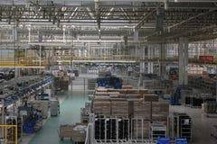 The warehouse Royalty Free Stock Photo