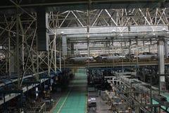 The warehouse Royalty Free Stock Photos